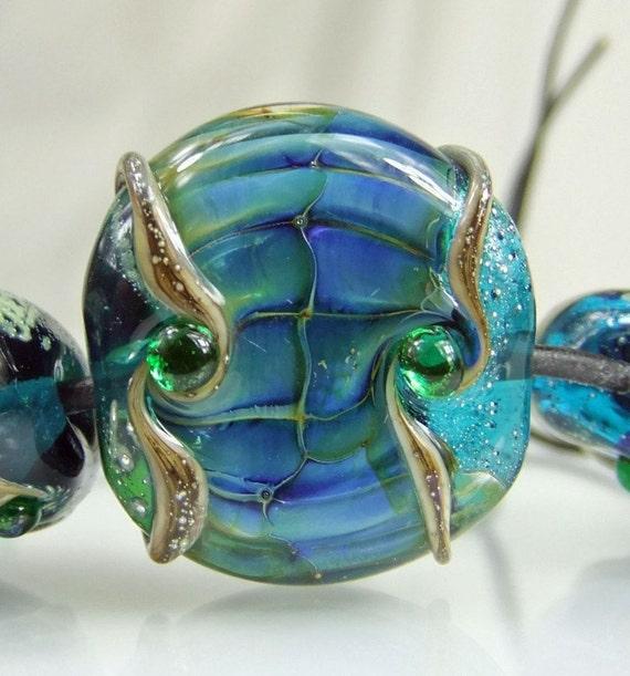 Lost Jewels of Atlantis Lampwork Bead Set