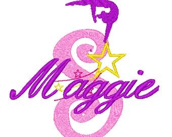 PILLOWCASE Gymnastics Star Personalized FREE