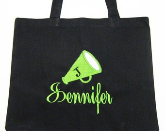 CANVAS TOTE Megaphone  Personalized FREE