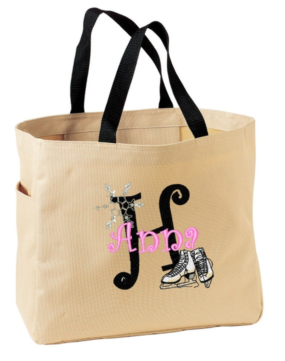FUN TOTE Ice Skater   Personalized FREE