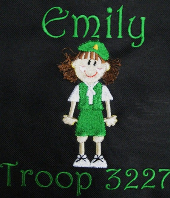 PILLOWCASE Girl Scout Troop Personalized FREE
