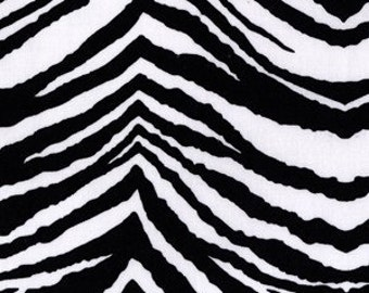 Black and White Party Animal Fabric by Paula Press for Michael Miller SUMMER SOIREE 1 Yard SALE