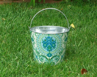 Wedding Galvanized Pail Azure Enchanting