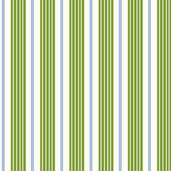 """Green Racer Stripe Fabric Fabric by Michael Miller Last 27.5"""""""
