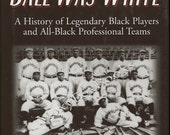 BASEBALL ONLY THE BALL WAS WHITE Black Professional Teams