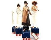 Great American Primitive Folk Art Suffragette Doll Josephine