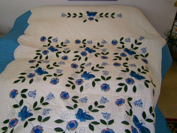 Reserved 2nd Payment -The Butterfly Applique
