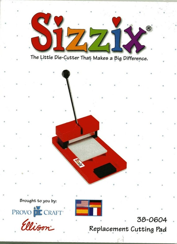 Sissix original cutting pad