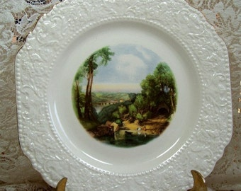 Crossing the Brook - Collectible Plate  - BY TURNER - ENGLAND