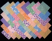1930's Reproduction 4 inch Quilt Fabric Squares (A/17A)