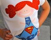 SHORT SLEEVE Supergirl My Best Friend T-Shirt