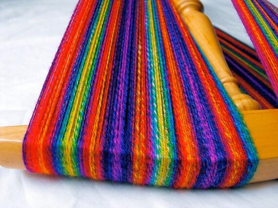 Handspun Sock Yarn Alchemist S Rainbow Self Striping