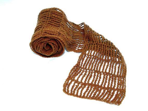 Crochet Scarf Pattern PDF Clementine
