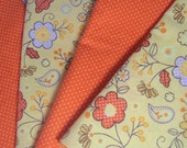 Springtime orange napkins