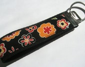 Boho flower key fob - fun for your bag