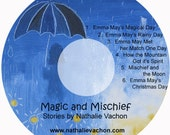 Magic and Mischief - a CD of stories by Nathalie Vachon