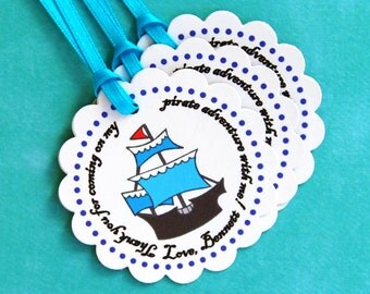 The Pirate Party - Fantastic Favor Tags with Bags from Mary Had a Little Party