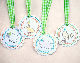 The Vintage Farm Collection - Fantastic Favor Tags with Bags from Mary Had a Little Party