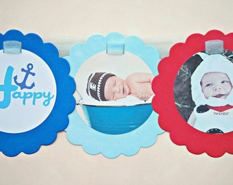 The NAUTICAL Fare - Custom Photo Banner from Mary Had a Little Party