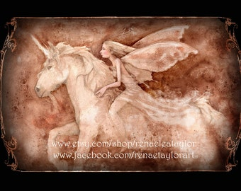 Joy Ride, Post Card by Renae Taylor