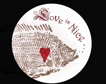Button.....Love is Nice