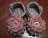 Crocheted Summer Sandals - Interchangeable Flowers