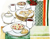 Madeleines and Tea : Limited Edition Print
