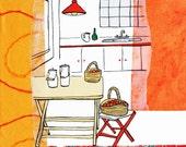 Madrid Kitchen : Limited Edition Print
