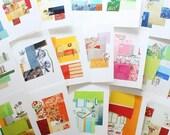 Art Cards Custom Set : Your Choice of 6 Cards