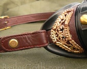 Steampunk Goggles of the Brass Hardware and Ox Blood