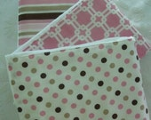 CANDY N GUMDROPS Burp Cloth Set -- Colorful, Absorbent, and So Stylish