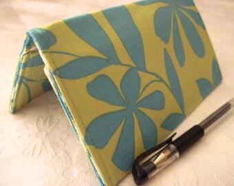 "Designer Fabric Checkbook Covers/Coupon Holders - ""AMELIA"""