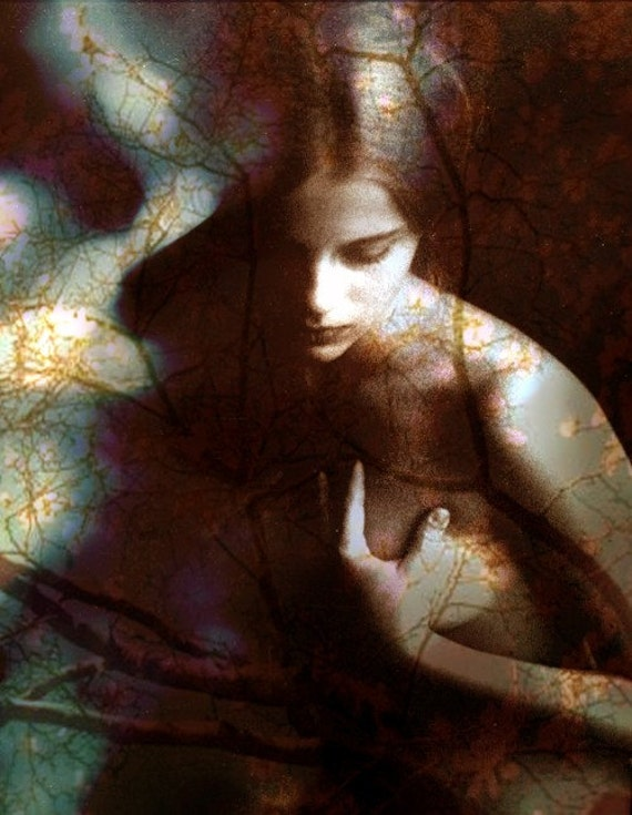 A Time Of Innocence, Nude, Photomontage, Collage, Illustration, Photograph, Figurative Art
