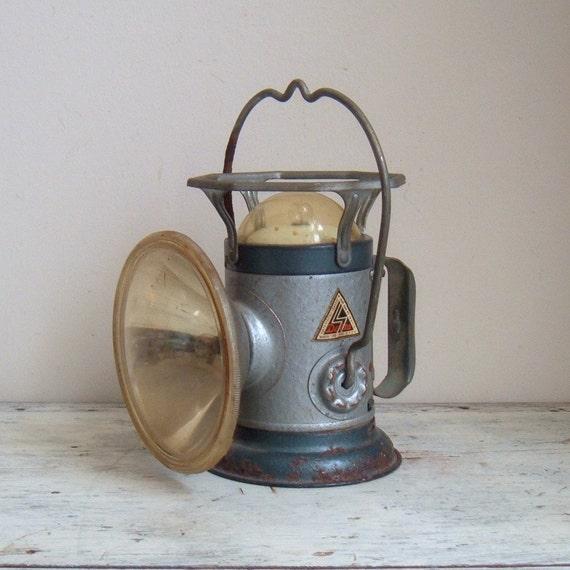 vintage delta miners lantern