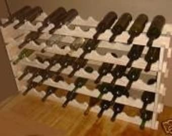 55  Wine Bottle Wood wine glass rack New  Item  139