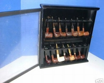 Pipe  Cabinet Rack Display PROFILE PIPE Display / Rack with Door New Item  175BL