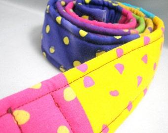 Patchwork Belt - Polka Dot Madness - Small