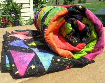 Heirloom Baby Quilt - Bright and Beautiful Buffalo Ridge