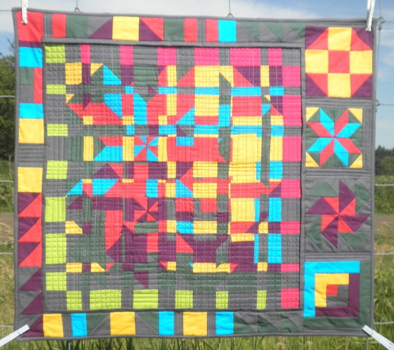Quilted Wall Art - Fractured Barn Quilts