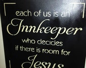 Jesus and the Innkeeper