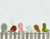 Birds of a feather - Print 8x10