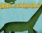 Brachiosaurus - Print ver.2 8x10