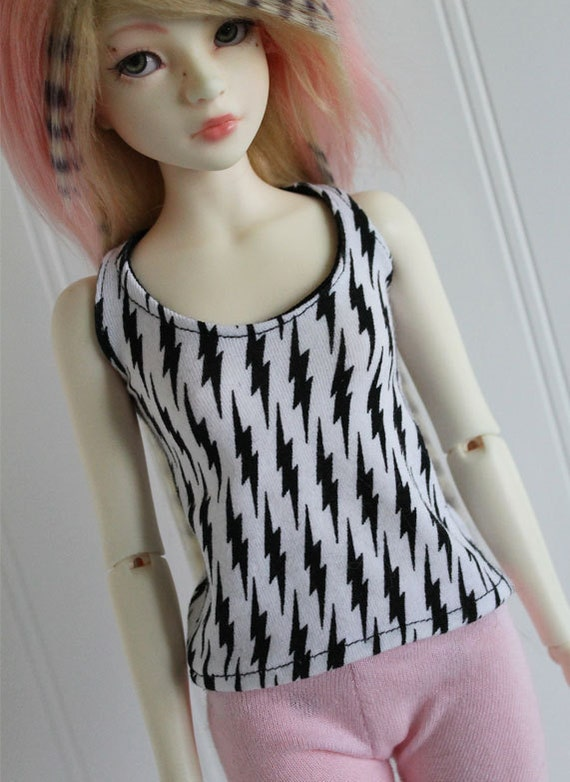 BJD/Dollfie JID sized bolt tank top