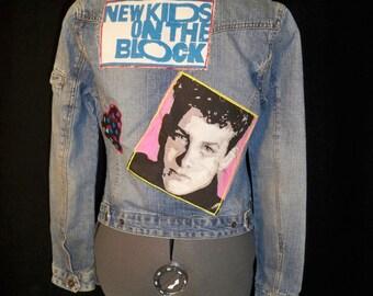 Custom NKOTB New Kids On the Block Denim Jean Jacket Applique only!