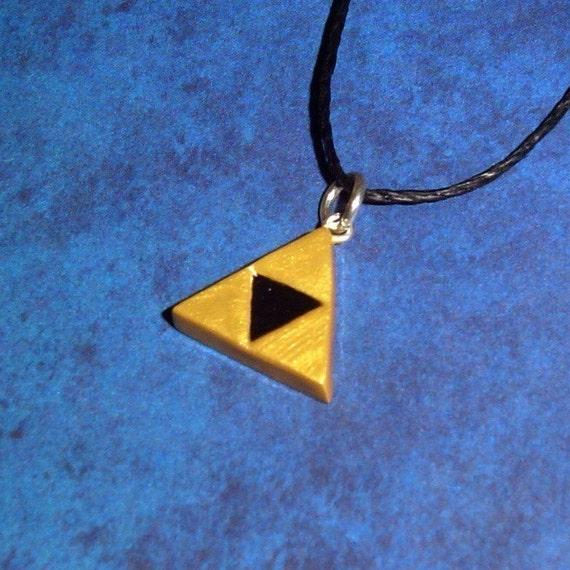 Legend of Zelda - Mini Triforce Charm Necklace