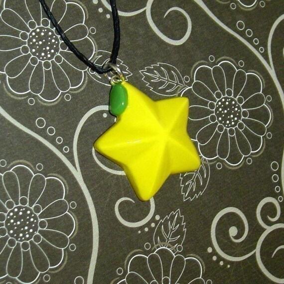 Kingdom Hearts - Whole Paopu Fruit Necklace