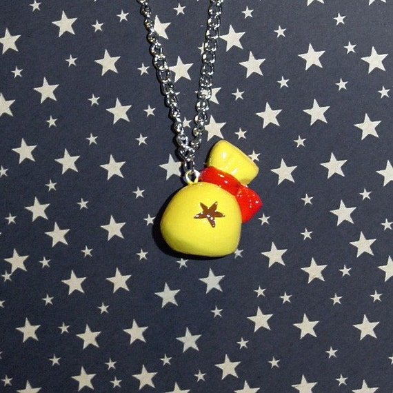 Animal Crossing Bell Bag Necklace - Filled with Real Bells