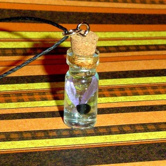 Water Bottle Zelda: Zelda Dark Fairy In A Bottle Necklace