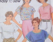 Simplicity Easy to Sew Pull Over Tops 7768