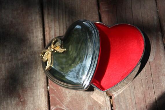 Vintage Heart Shaped Box